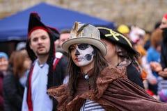 Laudenbach, Main-Tauber-Kreis, Germany - February 23, 2020: The Carnival of Laudenbach
