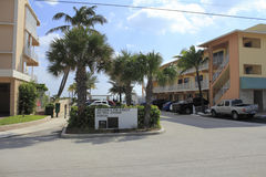 Het Portaal van de Weg van de doornappel, Lauderdale door het Overzees, Florida Stock Foto