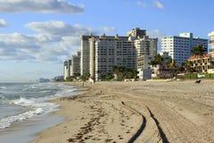 Lauderdale pela opinião do mar Foto de Stock Royalty Free