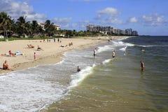 Lauderdale por el mar en el día Imagen de archivo libre de regalías