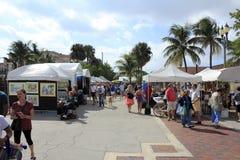 工艺节日,由海,佛罗里达的Lauderdale 免版税库存照片