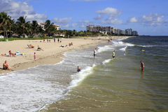 Lauderdale by the Sea in the Day Royalty Free Stock Image