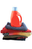 Laudry detergent stock photography