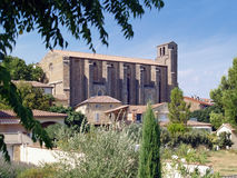 Laudun - Roman village in the south of France. Laudun - Roman village in Gard, south of France Stock Photo