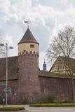 Lauer-Turm Ettlingen Stockfoto