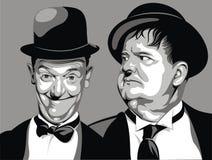 Lauer y resistente - mi caricatura original stock de ilustración