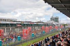 Lauf des Fischer-Freund-starken Mannes, Nurburgring, Deutschland Stockbild
