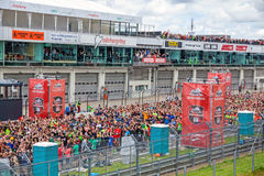 Lauf des Fischer-Freund-starken Mannes, Nurburgring, Deutschland Lizenzfreies Stockbild