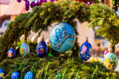 Lauf Easter well Royalty Free Stock Image