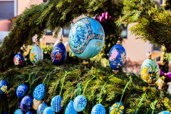 Lauf Easter well Stock Photo