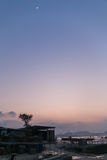 LauFauShan-Sonnenuntergang 5 Lizenzfreie Stockbilder