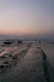 LauFauShan-Sonnenuntergang 1 Lizenzfreie Stockfotos