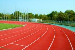 Laufbahn f?r die Athleten Hintergrund, Athlet Track lizenzfreies stockfoto