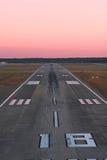 Laufbahn von der Luft Lizenzfreie Stockfotografie