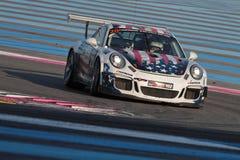 Laufen auf Paul Ricard Circuit Lizenzfreies Stockfoto