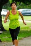 Laufen in den Park. lizenzfreies stockfoto