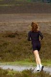 Laufen in den Park Lizenzfreie Stockbilder