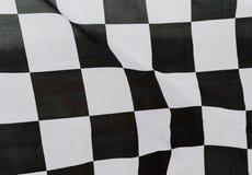 Laufen der Flagge Stockfoto