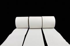 Laufen des Toilettenpapiers stockfotografie
