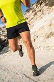 Laufen in die Berge Lizenzfreie Stockbilder