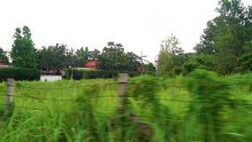 Laufen durch die thailändische Straße stock footage