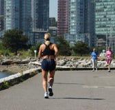 Laufen für das Leben stockfotografie