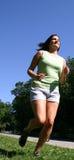 Laufen am Park Stockfotografie