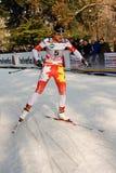Laufen Sie in der Stadt, FIS QuerfeldeinWeltcup Stockbild