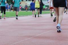 Laufen Sie für Gesundheit stockfotos