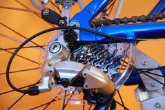 Laufen Sie Fahrrad Lizenzfreie Stockfotografie