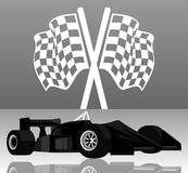 Laufen von car2 lizenzfreie abbildung