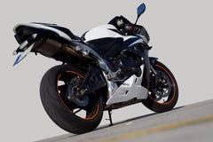 Laufen von Motocycle Stockfotos