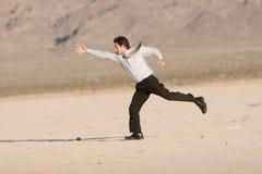 Laufen zum Erfolg stockfotos