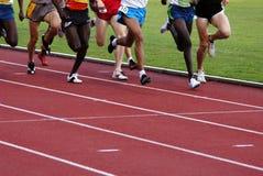 Laufende Athleten Lizenzfreie Stockfotos