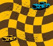 Laufende Autos Stockfotografie