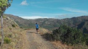 Laufende Berge Stockbild