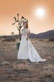 Laufende Braut Stockfoto