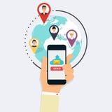 Laufende E-Mail-Kampagne, E-Mail-Werbung, direkter digitaler Markt Stockfotografie