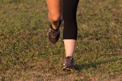 Laufende Füße Stockfotografie