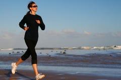 Laufende Frau Stockbilder