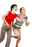 Laufende Frauen Lizenzfreies Stockfoto