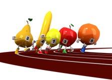 Laufende Frucht Stockfoto