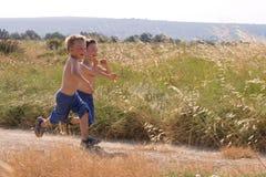 Laufende Kinder Stockfotografie