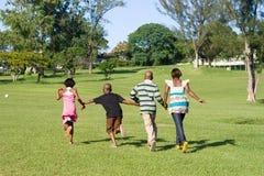 Laufende Kinder Stockbild