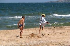 Laufende Kinder Lizenzfreies Stockbild