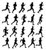 Laufende Leute Lizenzfreies Stockfoto