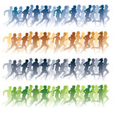 Laufende Leute Lizenzfreie Stockfotografie