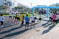 Laufende Leute Stockfoto