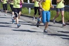 Laufende Rennläufer Lizenzfreie Stockbilder