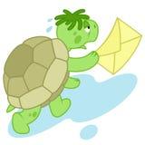 Laufende Schildkröte Lizenzfreie Stockfotos